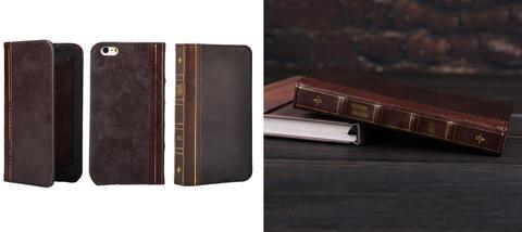 Book Theme Leather Phone Case Designed For Book Lovers 😍