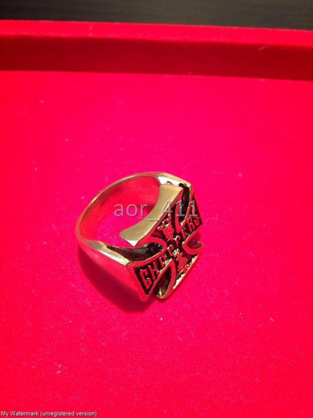 West Coast Choppers Brass Ring Harley Men/Women Size 7-12 Harley Davidson Bike