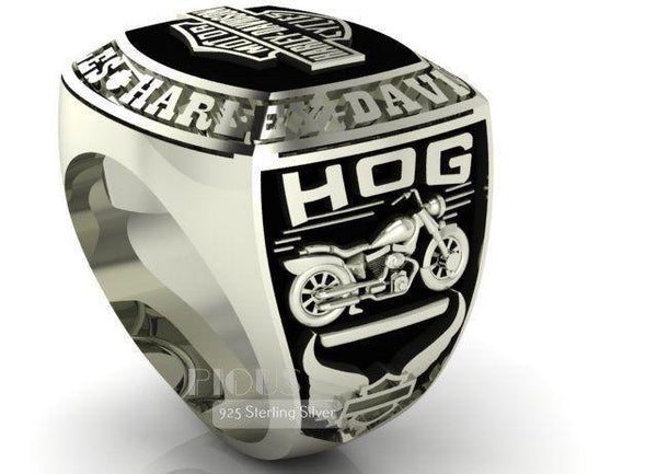 Biker Ring - Customizable
