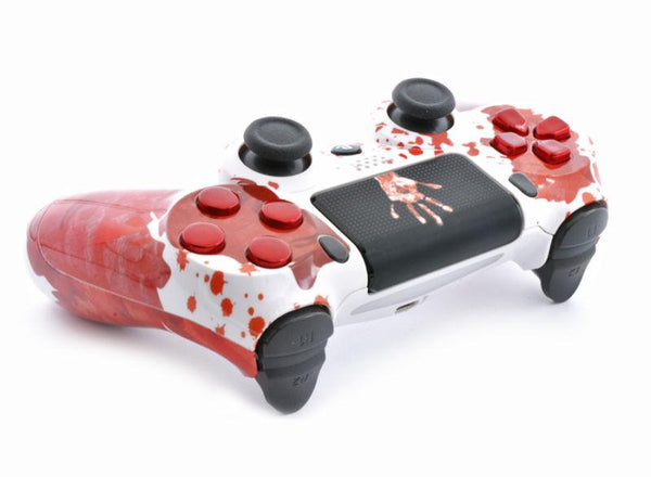 """BLOODY HANDS"" Ps4 Custom UN-MODDED Controller Exclusive Design"