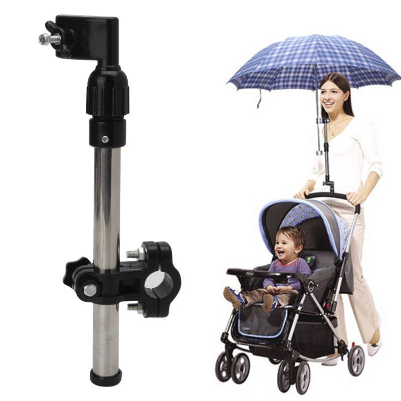 Useful Baby Buggy Pram Stroller Umbrella Holder Mount Stand Handle New