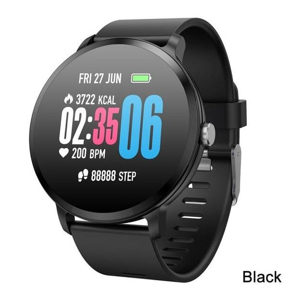 Greentiger V11 Smart Watch Tempered glass Activity Fitness tracker sport smartwatch IP67 Waterproof Heart rate monitor Men Women