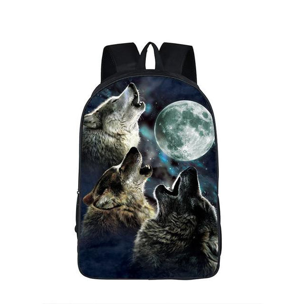 Galaxy / Universe / Unicorn / Cheshire Cat School Backpack