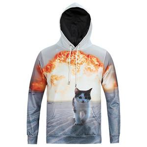 Awesome Cat Explosion Hoodie