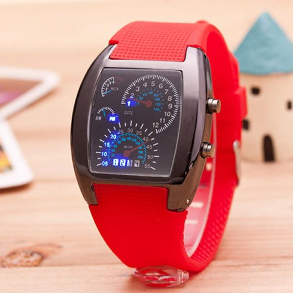 band silicon detail teenager product watches design plastic simple watch waterproof girl new silicone fashion case