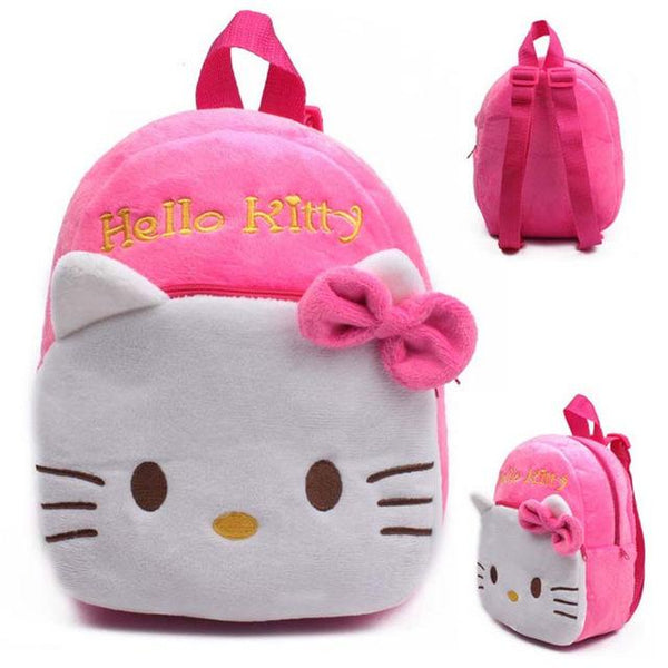 Animal Plush Backpack Cartoon School Bag