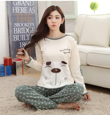 Bear Character Couples Pajama Sets