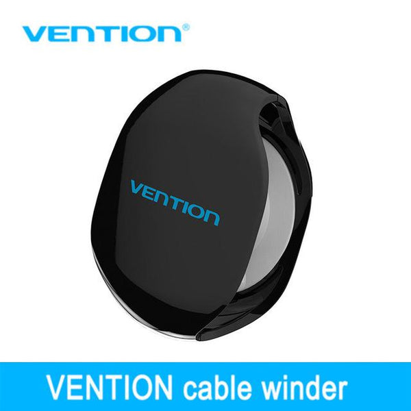 Vention Automatic Cable Winder Cord Organizer Holder for Headphones USB Cables and Phone Winding Automatic Cable Winder Machine