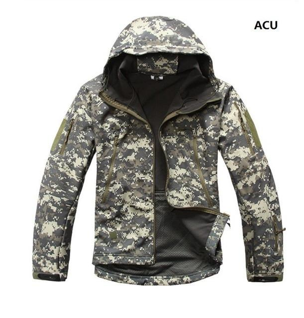2017 Waterproof Windproof Warm Camouflage Coat ( ACU)
