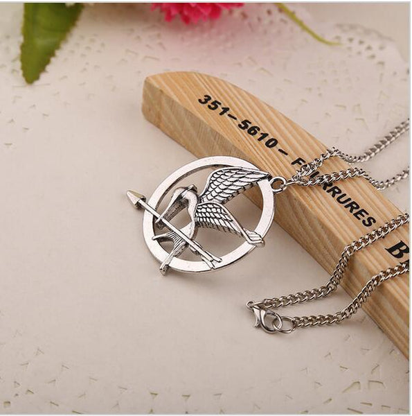 Hunger Game Bird Necklace