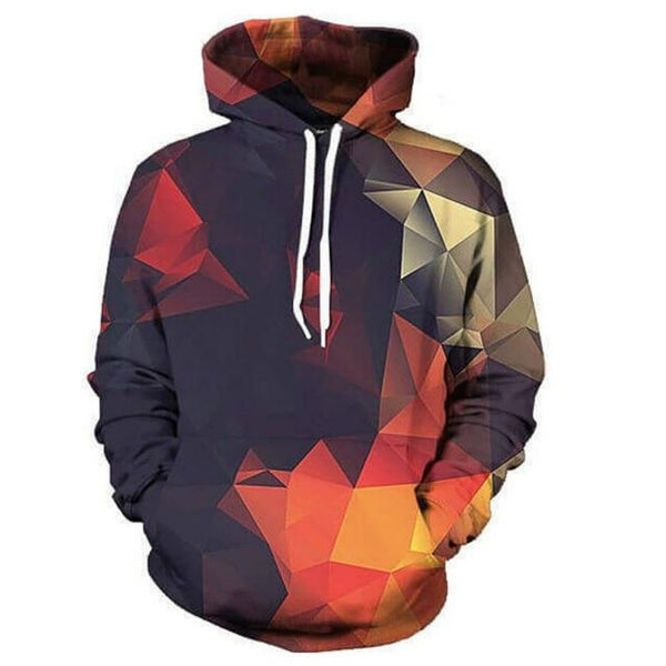 Hot Sale Hip Hop 3D Print Men's Hoodies