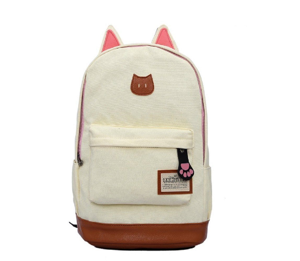 Coofit Canvas Backpack For Women Girls Satchel School Bags Cute Rucksa –  Swagnation e806ced42b01f