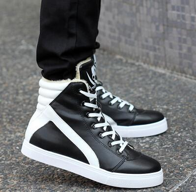 High-top British Style Men Shoes