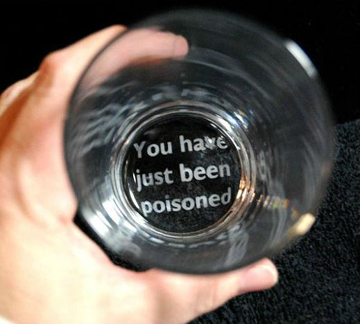 You have been poisoned cup