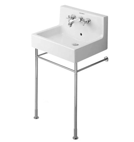 "Vero Series Metal console height adjustable +2"", for washbasin # 045360, 045460, 235060, Chrome Finish, Duravit, 003063"