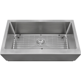 "Polaris 33"" Single Bowl Stainless Steel Apron Sink P509"