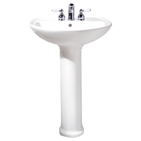 "Bathroom Pedestal Sink, 24"", Cadet, American Standard, 0236.411 - Showroom Sinks"