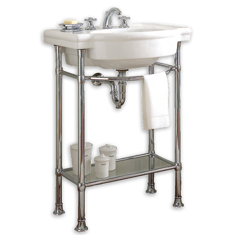 "American Standard Retrospect 27"" Bathroom Console Sink with table legs, 0282.008.020"