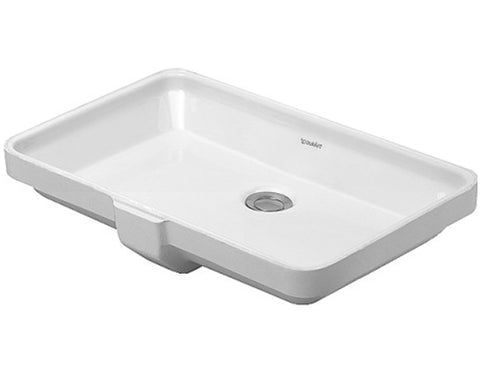 "Design Classics Series Bathroom Undermount Sink 20-5/8"", Duravit, 031653"
