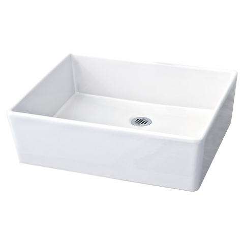 American Standard Loft Above Counter Sink with less Faucet Hole, Fireclay, White, 0552.000.020 - Showroom Sinks