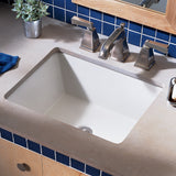 "American Standard Boulevard 16""x20-1/4"" Undercounter Sink, Vitreous China, 0610.000 - Showroom Sinks"