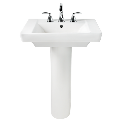 "Bathroom Pedestal Sink, 24"", Boulevard, American Standard, 0641.400 - Showroom Sinks"