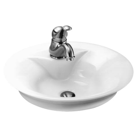American Standard Morning Above Counter Bathroom Sink, 0670.000 - Showroom Sinks