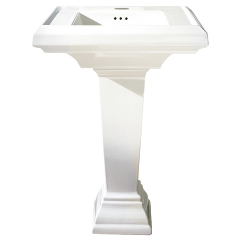 "Bathroom Pedestal Sink, 27"", Town Square, American Standard, 0780.800 - Showroom Sinks"