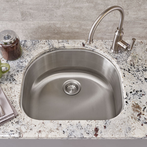 American Standard Portsmouth 23x21 Stainless Steel Kitchen Sink, 18SB.9232100S.075 - Showroom Sinks
