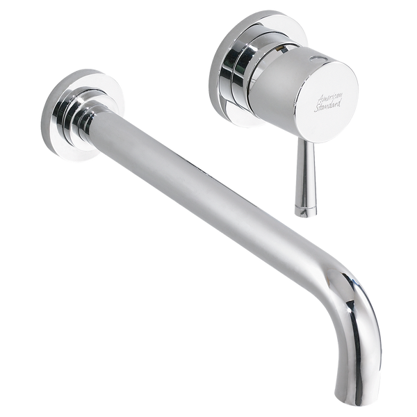 "American Standard Serin 1-Handle 9-1/8"" Wall-Mount Bathroom Faucet, 2064.461 - Showroom Sinks"