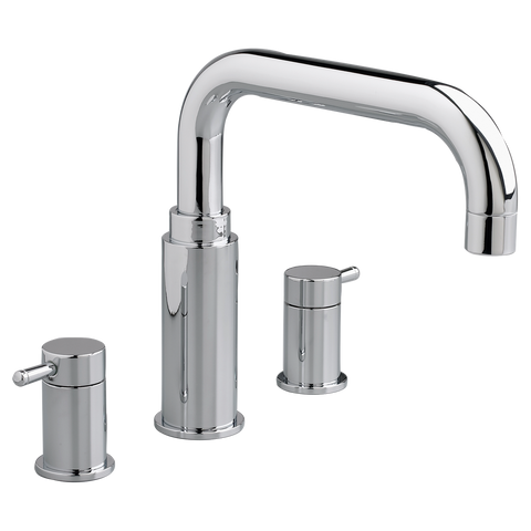 "American Standard Serin 9-3/4"" Deck-Mount Bathtub Faucet, 2064.900 - Showroom Sinks"
