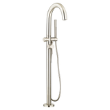 American Standard Contemporary Round Freestanding Tub Faucet, 2064.951 - Showroom Sinks