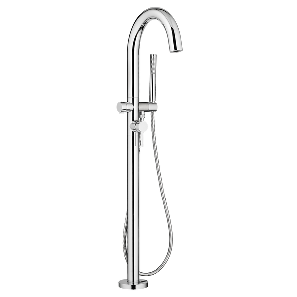 American Standard Contemporary Round Freestanding Tub Faucet, 2064.951