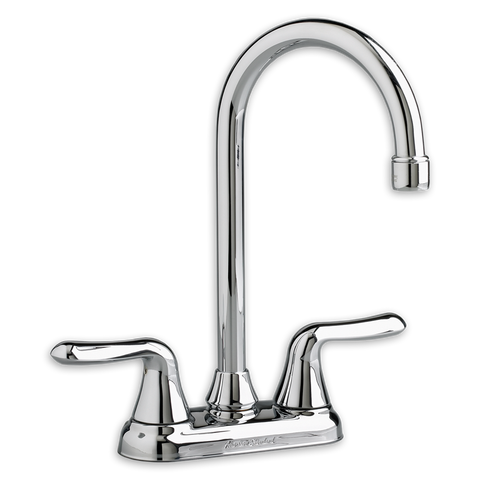"American Standard Colony Soft, 13-1/16"" 2-Handle High-Arc Bar Sink Faucet, 2475.500 - Showroom Sinks"