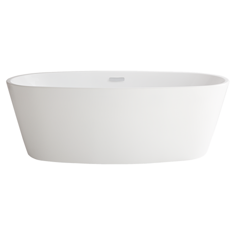 "American Standard Coastal Serin 68-3/4"" Freestanding Tub, 2765034.020 - Showroom Sinks"