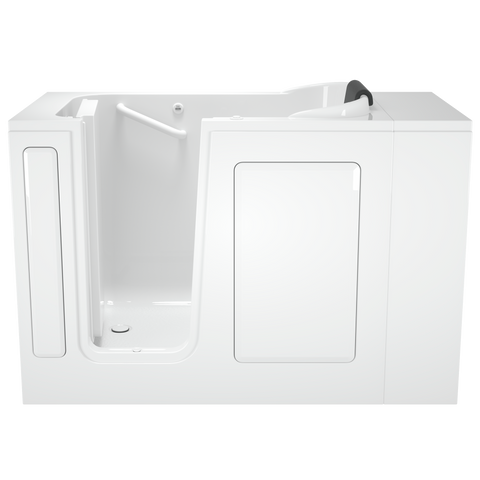American Standard Gelcoat Premium Series 28x48-inch Walk-In Bathtub with Air Spa System - Left Door and Drain, 2848.105.AL