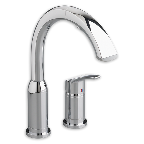 American Standard Arch Single Handle Pull Out High-Arc Kitchen Faucet, 4101.350 - Showroom Sinks