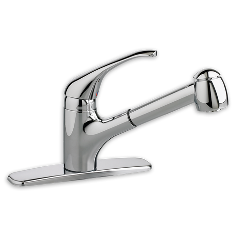 American Standard Reliant + 1-Handle Pull-Out Kitchen Faucet, 4205.104 - Showroom Sinks