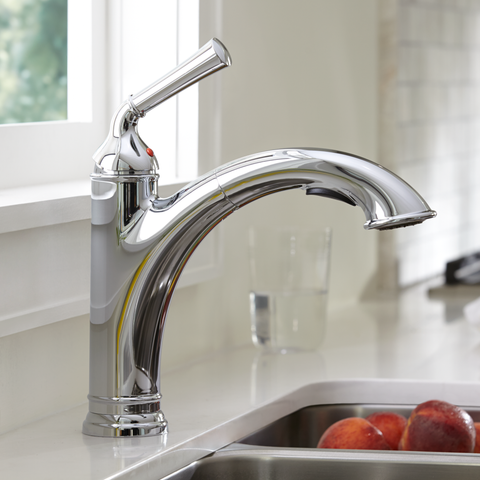 American Standard Portsmouth 1-Handle Pull Out Kitchen Faucet, 4285.100