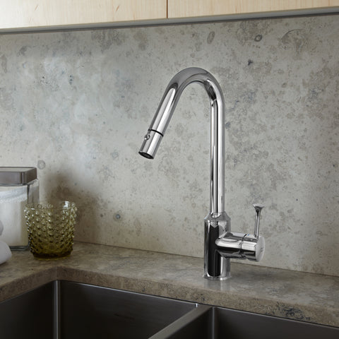 American Standard Pekoe 1-Handle Pull-Down Bar Sink Faucet, 4332.410.002 - Showroom Sinks