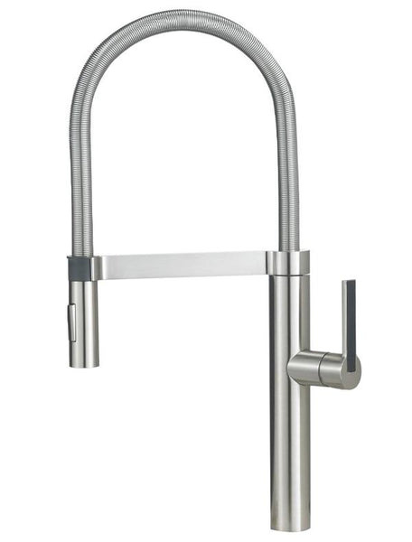 "Blanco Culina™ 21-1/2"" Semi Professional, Dual Spray, Pull-down Spray, Solid Brass Kitchen Faucet"
