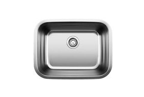 "Blanco Stellar 23"" Laundry Undermount, Single Bowl, Stainless Steel Sink, 441398 - Showroom Sinks"