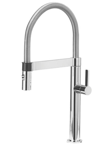 "Blanco Culina™ Mini Semi-Professional, 17-1/8"", Dual Spray, Pull-down Spray, Solid Brass, Kitchen Faucet"