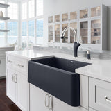 Blanco Artona™ Dual Pull-Down Spray Silgranit™ Dual Finish, Solid Brass Kitchen Faucet - Showroom Sinks