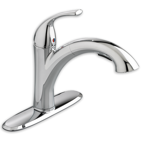 American Standard Quince 1-Handle Pull-Out Kitchen Faucet, 4433.100 - Showroom Sinks