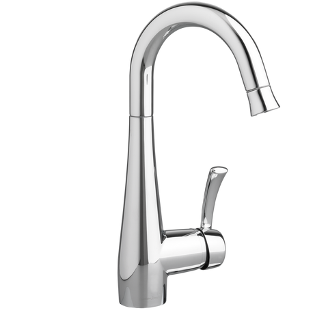 American Standard Quince 1-Handle Pull Down High Arc Bar Sink Faucet, 4433.410.002