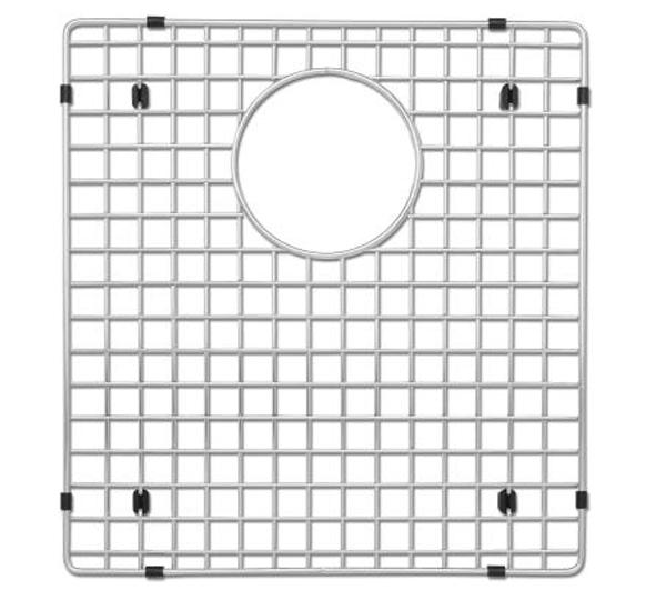 "Blanco Bottom Sink Grid For Blanco Precis 16"" 1-3/4 Left Bowl, 516364 - Showroom Sinks"