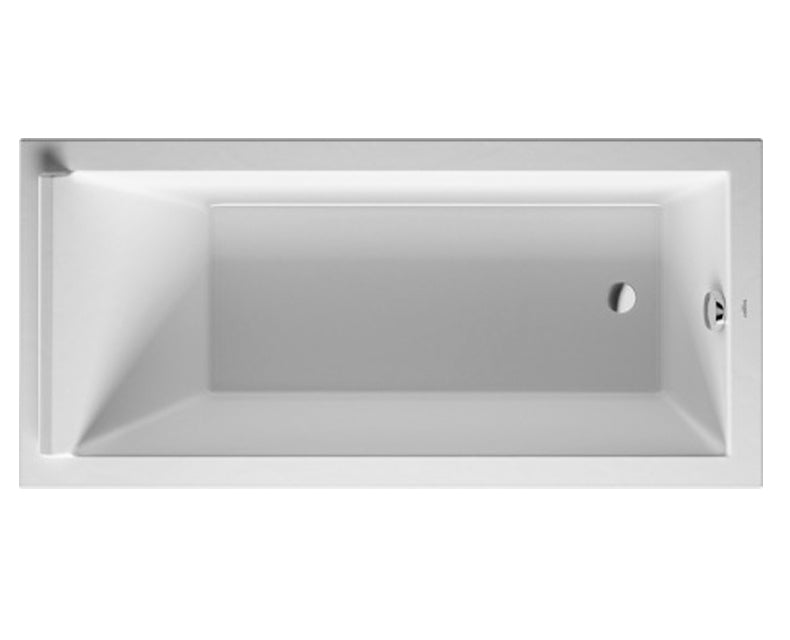 Starck Series Rectangular Acrylic Drop-In or for Panel Tubs/Shower ...