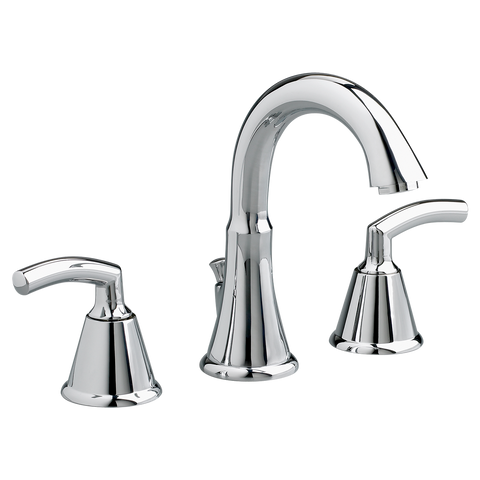 "American Standard Tropic 2-Handle 7-3/4"" Widespread High-Arc Bathroom Faucet, 7038.801 - Showroom Sinks"