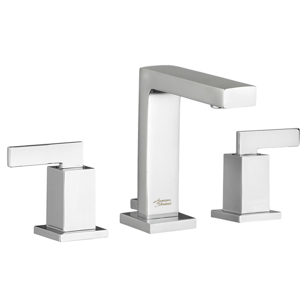 "American Standard Times Square 2- Handle 6-3/4"" Widespread Bathroom Faucet, 7184.851 - Showroom Sinks"